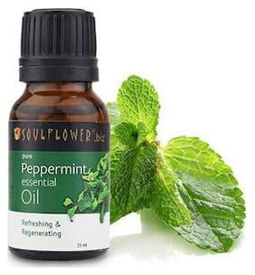 Soulflower Peppermint Essential Oil 15 ml