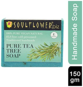 Soulflower Pure Tea Tree Soap 150 g