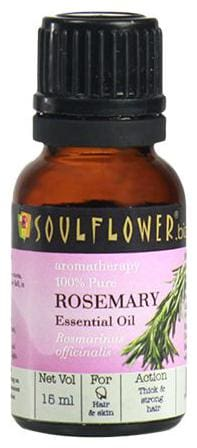 Soulflower Rosemary Essential Oil 15 ml
