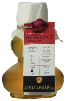 Soulflower Romance Aroma Massage Oil 90 ml