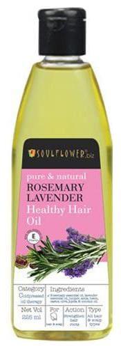 Soulflower Rosemary Lavender Healthy Hair Oil 225 ml
