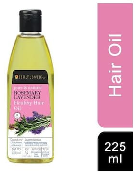 Soulflower Rosemary Lavender Healthy Hair Oil 225 ml