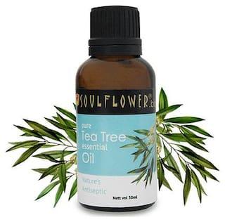 Soulflower Tea Tree Essential Oil 30 ml