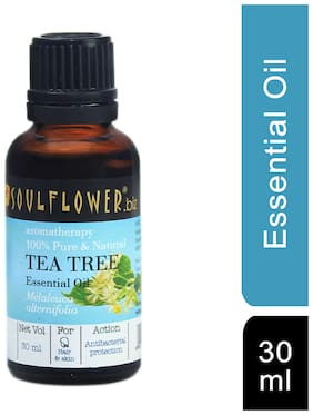 Soulflower Tea Tree Essential Oil 30 ml