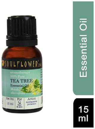 Soulflower Tea Tree Essential Oil 15 ml