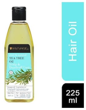 Soulflower Tea Tree Anti-Dandruff And Scalp Oil 225 ml