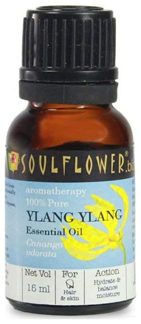 Soulflower Ylang Ylang Essential Oil 15 ml
