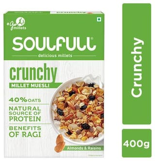 Soulfull Millet Muesli - Crunchy 400 g