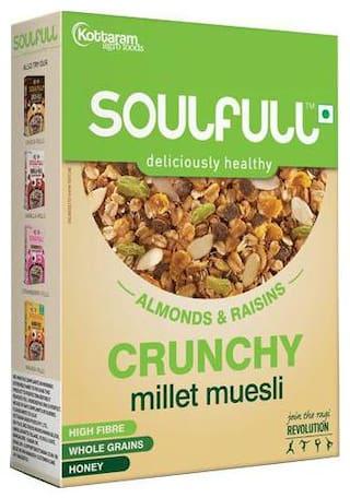 Soulfull Millet Muesli - Crunchy 200 gm