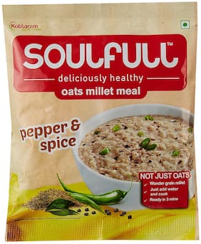 Soulfull Oat Millet Meal - Pepper And Spice 35 g