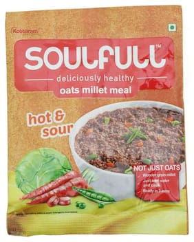 Soulfull Oat Millet Meal -Hot And Sour 35 g