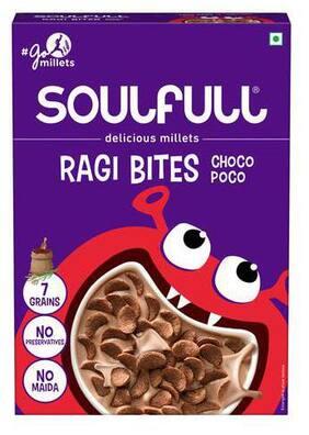 Soulfull Ragi Bites- Choco Poco 200 g