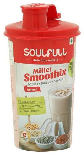 Soulfull Smoothix - Almond, Shaker 60 gm