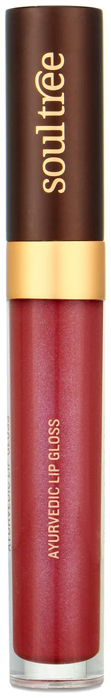 SoulTree Ayurvedic Lip Gloss - Lush Berry, 5g