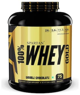 Spartan 100% Whey Protein Gold (5lbs) Double Chocolate
