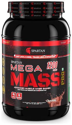 Spartan Nutrition   Mega Mass PRO Series   Weight/Mass Gainer (2LBS, Chocolate)