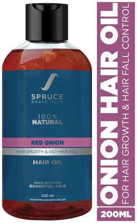 Spruce Shave Club Onion Hair Oil For Hair Growth & Hair Fall Control | 100% Natural