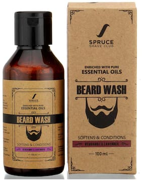 Spruce Shave Club Beard Wash For Cleaner & Stronger Beards | Bergamot & Lavender