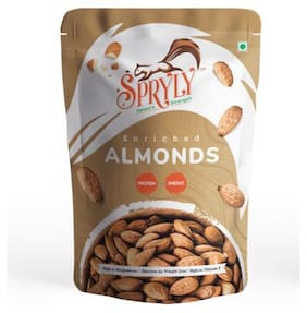 SPRYLY Enriched California Regular Almonds 500 g
