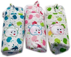 Squnibee Cotton Medium Multi Zip Bottle Cover