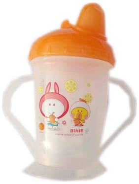 Squnibee Orange Sipper Cup