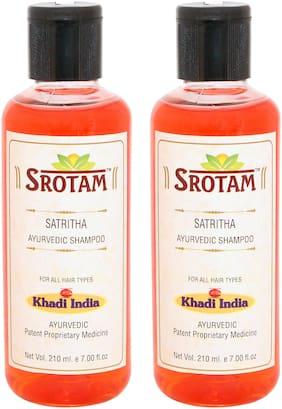 Srotam Satritha Shampoo (Pack of 2 ) 420 ml