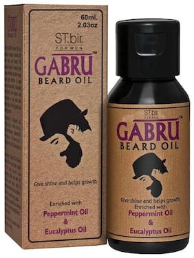 St Bir Gabru Beard Oil - Peppermint Oil & Eucalyptus Oil 60 ml