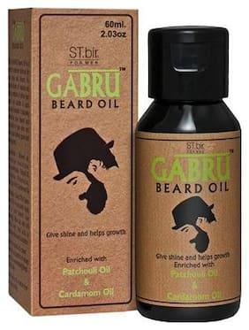 St Bir Gabru Beard Oil - Patchouli & Cardamom 60 ml