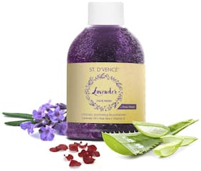 ST. D'VENCE French Lavender Oil & Rose Water Face Wash, 150 ml
