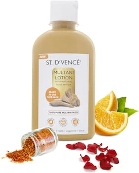 ST. D'VENCE Multani Mitti Lotion with Natural Rose Water, 275ml