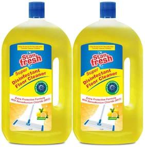 Stanfresh Super Disinfectant Floor Cleaner - Lemon 1ltr (Pack of 2)