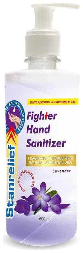 Stanrelief Hand Sanitizer Push Pump - Lavender 500ml