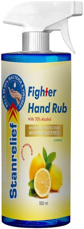 Stanrelief Hand Rub Trigger - Lemon 500ml