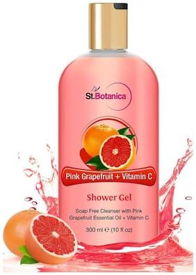 StBotanica Pink Grapefruit & Vitamin C Luxury Shower Gel Body Wash - 300 ml