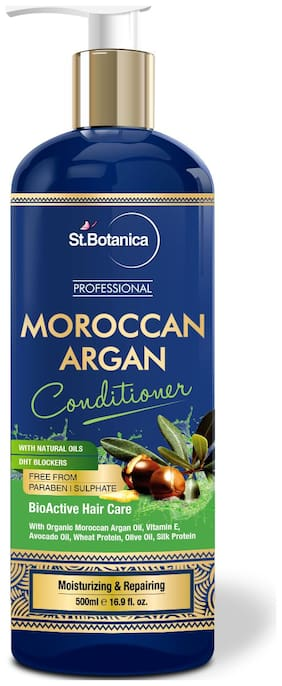 StBotanica Professional Moroccan Argan Conditioner 500 ml (Pack of 1)