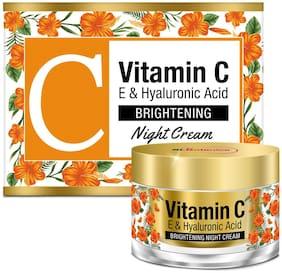 StBotanica Vitamin C Brightening Night Cream, 50g
