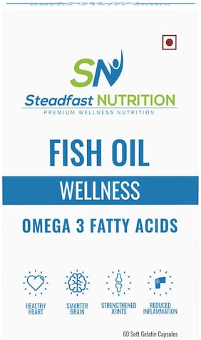 Steadfast Nutrition Fish Oil (60 Capsules)