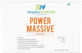Steadfast Nutrition Power Massive - Mass Gainer 3.75kg