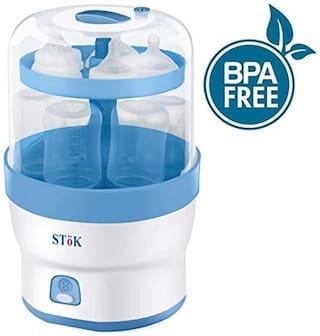 SToK (BPA Free) - For 6 Bottles- 3 in 1 Electric Steam Sterilizer / Steriliser for Baby Feeding bottles & other accessories -ST-ES01