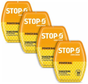 Stop-O Power Bag Tangerine - Pack of 4 ( 10 g )