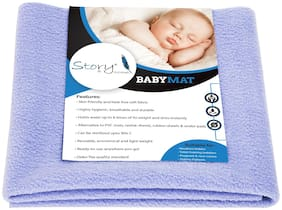Story@Home 100% Terry Cotton Baby Mattresses & Waterproof Sheets Pack of 1