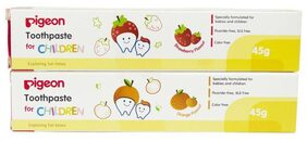 STRAWBERRY & ORANGE TOOTHPASTE 45 g COMBO (45 g + 45 g)