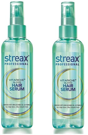 Streax Professional Vitariche Gloss Hair Serum 100 ml (Pack of 2)