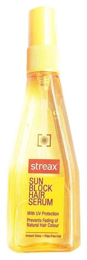 Streax Sun Block Hair Serum With Uv Protection 100 ml