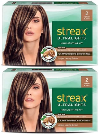 Streax Ultralights Highlighting Kit 2 Vibrant Blonde (Pack of 2)