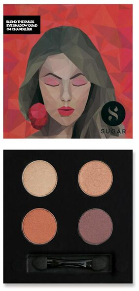 Blend The Rules Eyeshadow Quad - 04 Chandelier