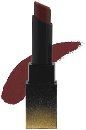 SUGAR Cosmetics Nothing Else Matter Longwear Lipstick -3.5g 34 Brownie Point (Brown Toned Burnt Orange/ Reddish Brown)