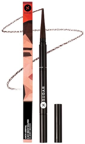 Sugar Cosmetics Arch Arrival 3in1 Brow Shaper  01 Jerry Brown (Medium Brown) 35g