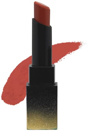 SUGAR Cosmetics Nothing Else Matter Longwear Lipstick -3.5g 25 Rust Issues (Rusty Peach / Coral Rose)