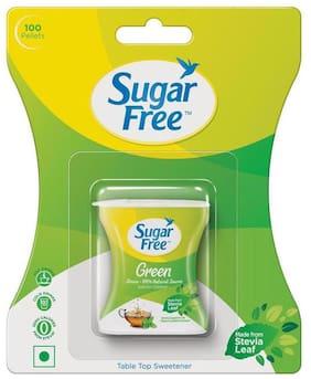Sugar Free Green Natural Sweetner 100 Pellets